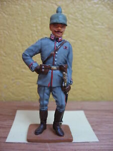 FIGURINE-DEL-PRADO-SOLDAT-LIEUTENANT-PRUSSIEN-ALLEMAGNE-1914-WWI
