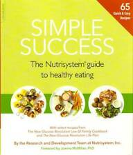 Simple Success The Nutrisystem Guide to Healthy Eating Paperback Jan 01 201