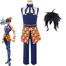JoJo/'s Bizarre Adventure Golden Wind Narancia Ghirga Cosplay Costume Outfit h77