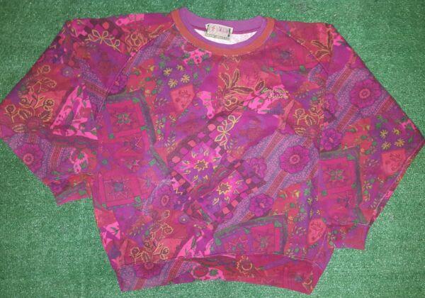 Audaz American System Felpa Sweater Vintage Paninaro Anni 80 Jumper Shirt L Adecuado Para Hombres, Mujeres Y NiñOs