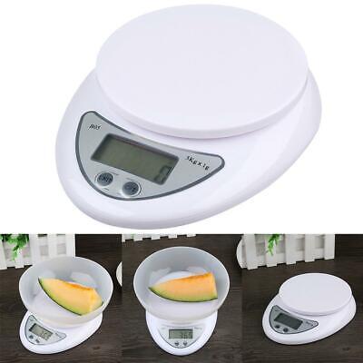 5000g//1g 5KG Digitale Küchenkost Diät Postwaage Gewicht Balance Electronic
