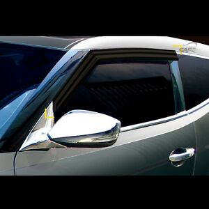 Smoke-Window-Vent-Sun-Visors-Rain-Guards-for-Hyundai-Veloster-Turbo-2012-2015