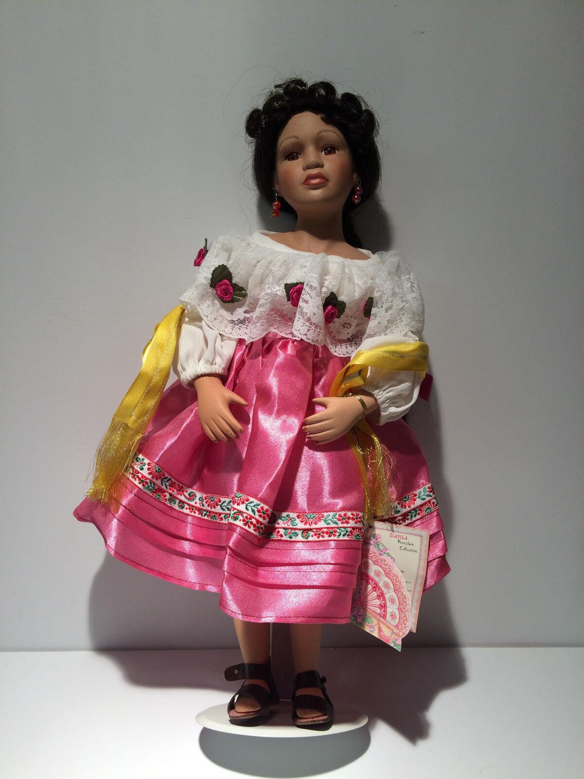 Danea collection  Norma  Hispanic collector doll.  Rare