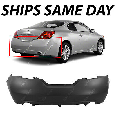 Rear Bumper Cover Replacement for 2016-2018 Nissan Altima w// Park NEW Primered