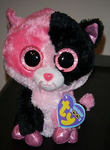 "Ty Beanie Boos ~ DAZZLE the Cat 6"" (Justice Exclusive) NEW MWMT"