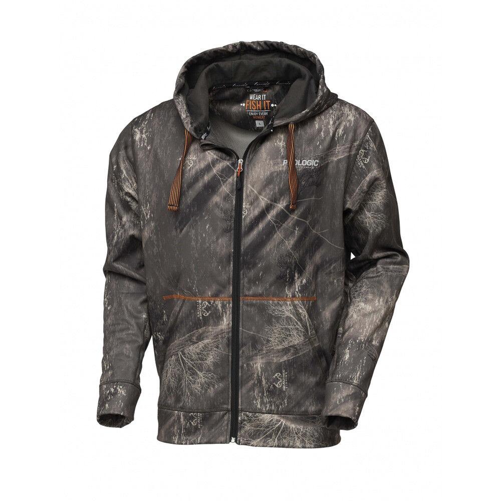 Prologic Realtree Fishing Zip Hoodie - Carp Pike Barbel Coarse Fishing Clothing