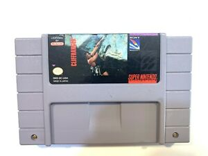 Cliff-Hanger-SUPER-NINTENDO-SNES-Game-Tested-Working-amp-Authentic