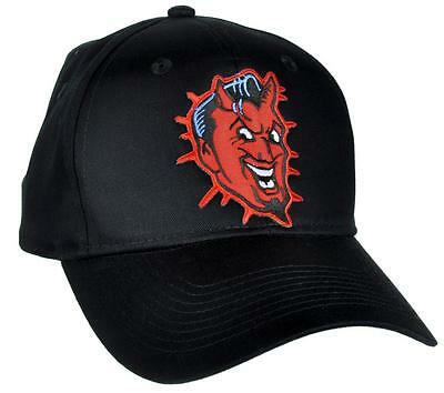 Classic Red Devil Hat Baseball Cap Tattoo Rockabilly Clothing Ink Deathrock