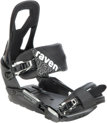 Neu! Raven Snowboard Bindung s240 Black 2020 S//M oder M//L