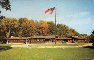 OREGON-IL-1960-White-Pines-Forest-Lodge-built-by-CCC-1933-39-VINTAGE-ILLINOIS