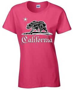 California-Bandana-Bear-Ladies-T-shirt-California-Tee