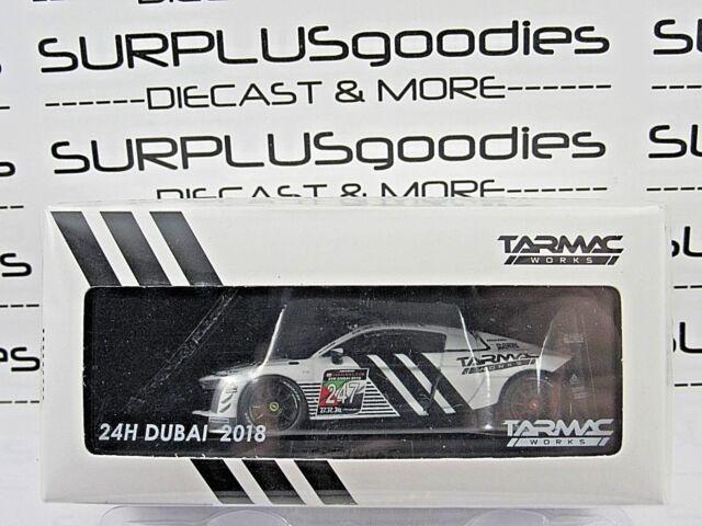 Tarmac Works 1 64 Global64 Audi R8 Lms Gt4 Adidas Dubai Presentation
