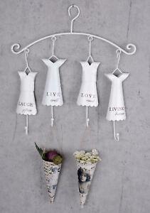 Acheter Pas Cher Porte-serviette Blanc Crochet Mural Barre De Crochet Vestiaire Quatre Crochets Qualité Et Quantité AssuréE