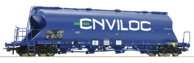 Roco H0 76706  ERMD VI Staubsilowagen Uacs blau NEU/OVP
