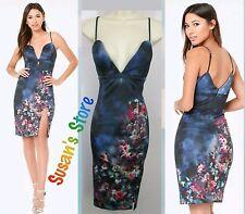 NWT BEBE Amanda Print Scuba Dress SIZE XL Stunning, exquisitely sexy $160