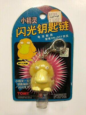 Tomy Auldey Pokemon Light Up Keychain CHANCEY NIP 1998