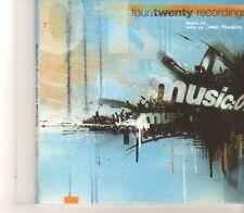 (GC283) four:twenty recordings music:01, mixed by James Mowbray - 2006 CD