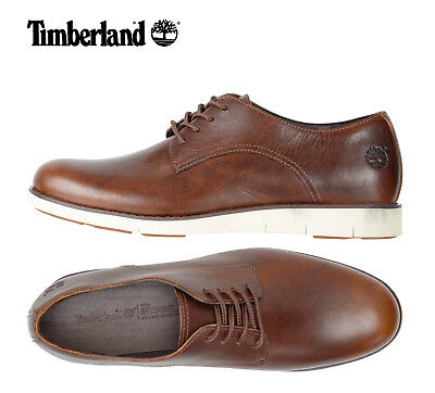 Timberland Women NEW Lakeville Leather Ortholite Oxford Shoes Brown Black