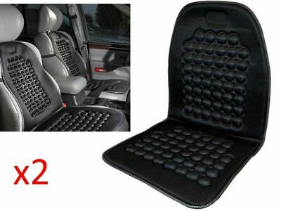 BLACK Velour Padded Comfort Cushion for Car Taxi Office Lorry Van