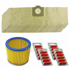 20 BAGS + FILTER for LIDL PARKSIDE Vacuum PNTS 1250 1300 1400 1500 A1 B1 + Fresh