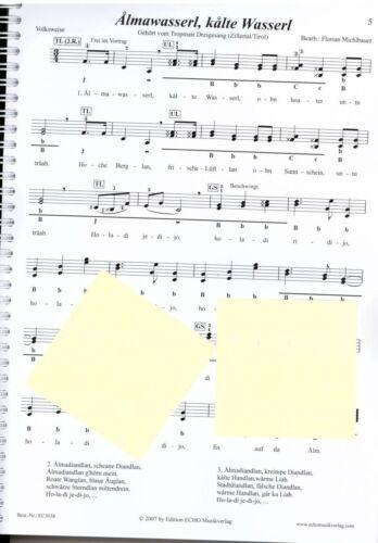 Das große Volksliederbuch Steirische Harmonika Noten Griffschrift