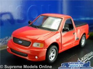 Ford-Lightning-F-150-Voiture-Modele-1-43-Taille-pick-up-Anson-80801-rouge-SVT-K8-americain