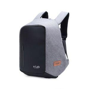 x-Lab-Anti-theft-Men-Women-Laptop-Backpack-USB-Charging-Port-Business-School-Bag