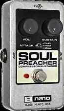 EHX Electro Harmonix SOUL PREACHER Compressor / Sustainer Guitar Effects Pedal
