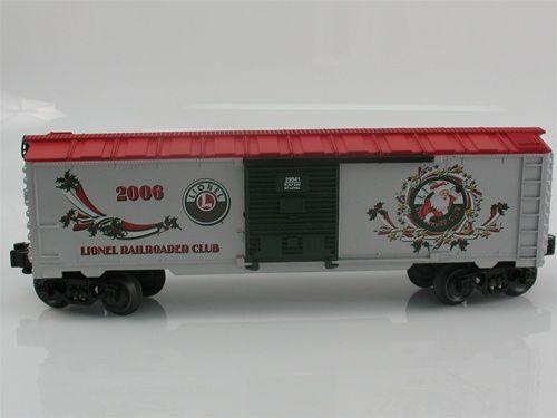 Sospeso Lionel 629941, Natale Vagone Lrrc 2006