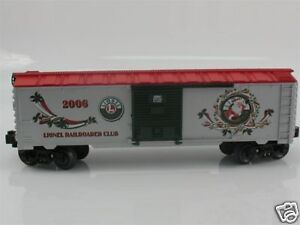discontinued Lionel 6-29941, Christmas Boxcar LRRC 2006