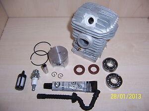 Kolben-Zylinder-passend-Stihl-025-250-neu-SET-5-motorsaege-kettensaege