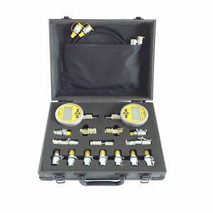 Digital Hydraulic Pressure Tester XZTK-70MD Combo for Caterpillar Komatsu ETC