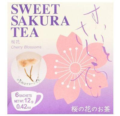 Tea Boutique Sweet Sakura Tea 6 Sachets Made in Japan