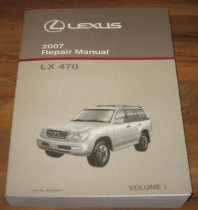 2007 LEXUS LX470 Service Manual #1_Engine/Fuel/Cooling ...