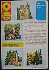 Schreiber-Bogen JFS-71764 - Der gestiefelte Kater - Papier Modellbausatz