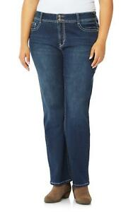 c7b372f27e1c6 Image is loading WallFlower-Plus-Size-Luscious-Curvy-Bling-Bootcut-Jeans-