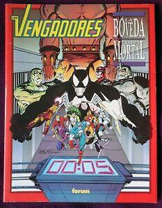 LOS-VENGADORES-La-Boveda-Trampa-mortal-Novelas-Graficas-Marvel-Forum-1992