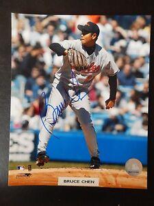 """Bruce Chen Autographed 8"""" X 10"""" Photograph (#3)"""
