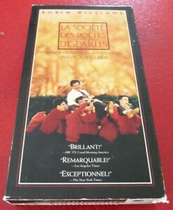 VHS-Movie-La-Societe-Le-Cercle-des-Poetes-Disparus-Version-Francaise
