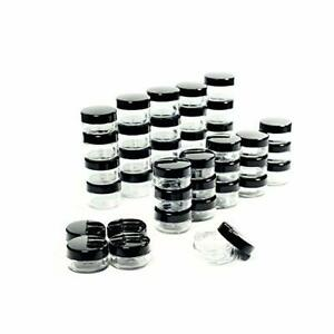50-Pcs-5-Grams-Cosmetic-Empty-Sample-Small-Containers-Jar-Makeup-Lip-Balm-5ml-US