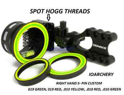 NEW Spot Hogg Grinder MRT 5 Mixed  Pin Right Hand micro .019 .019 .010 .010 .010