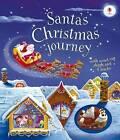 Santa's Christmas Journey with Wind-Up Sleigh by Fiona Watt (Board book, 2016)