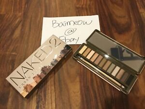 NEW-In-Box-Urban-Decay-Naked2-Eye-Shadow-Palette-12-Shades-Discontinue