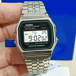 Vintage About Details N1dfa159wa Stainless Digital N1 Casio Retro Steel A159wa Watch v8PynN0Omw