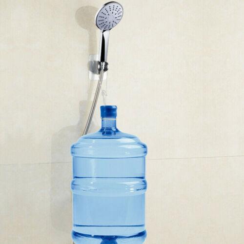 Adjustable Bathroom Wall Mounted Shower Head Handset Holder Bracket Suction UK