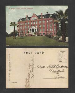 1910-ST-MARYS-COLLEGE-OAKLAND-CALIFORNIA-POSTCARD
