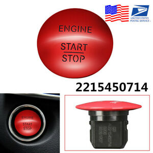 For-Mercedes-Benz-Engine-Start-amp-Stop-Push-Button-Switch-Keyless-2215450514-USA