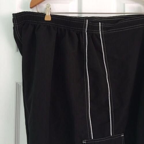 Swimsuits For All Women/'s Plus Size 34 18 Bikini Black Bottom Short NWT//NWOT