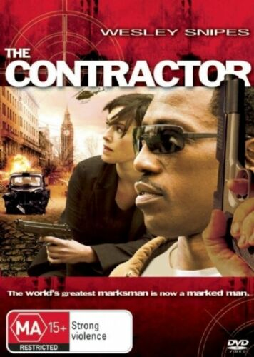 1 of 1 - THE CONTRACTOR DVD=WESLEY SNIPES=REGION 4 AUSTRALIAN RELEASE=NEW AND SEALED