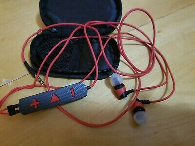 Klipsch Image S4i Rugged All Weather In Ear Headphones Red Ebay